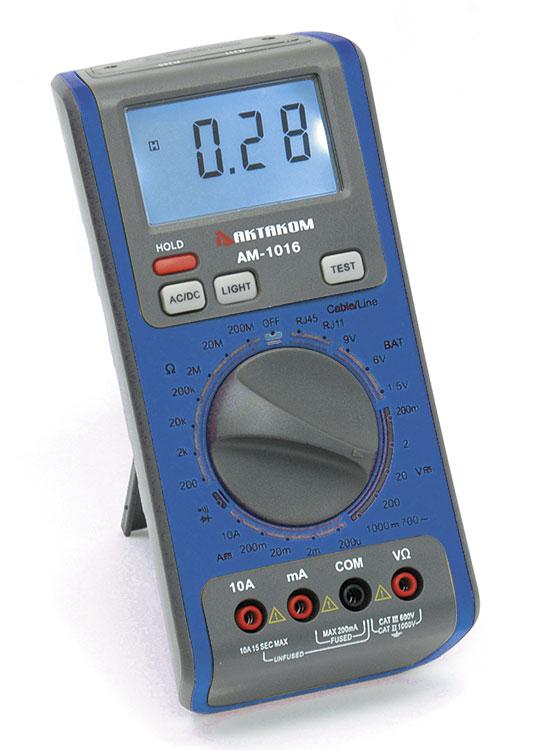 Мультиметр цифровой АМ-1016