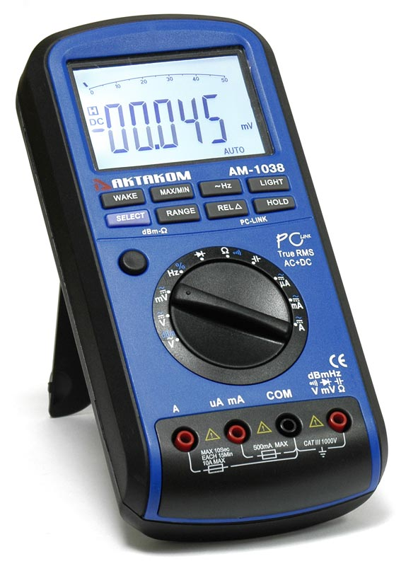 Мультиметр цифровой АМ-1038