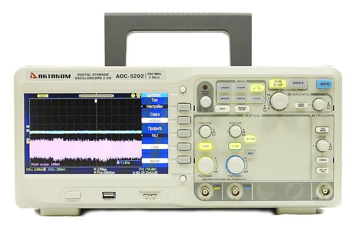 Двухканальный осциллограф Актаком AOC-5202