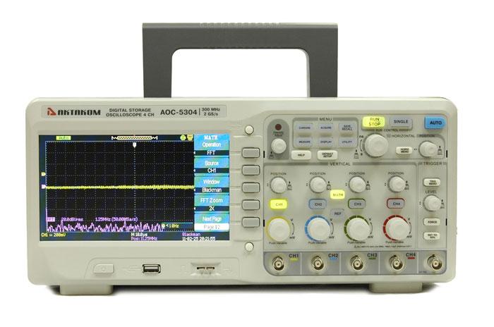 Четырехканальный осциллограф Актаком AOC-5304