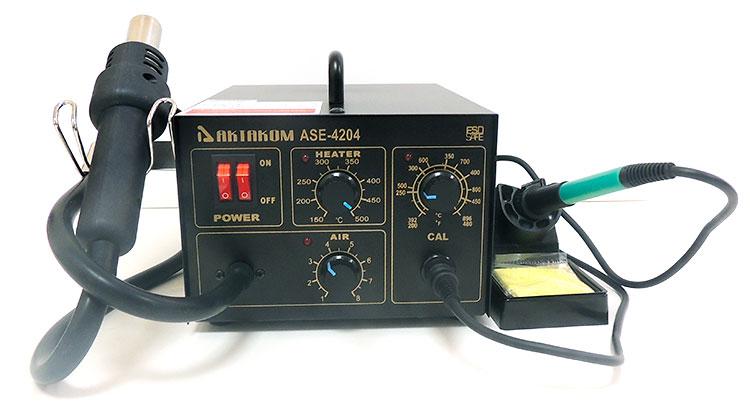 Новая многофункциональная паяльная станция Актаком ASE-4204